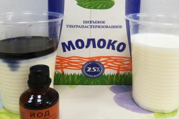 Подкормка йод с молоком